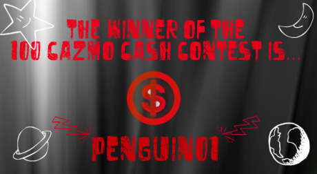 winner of cazmo cash contest